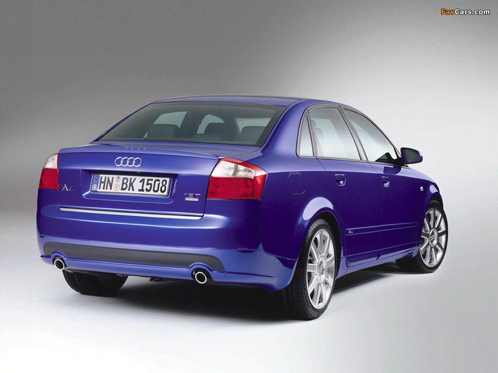 Photos Of Audi A4 1 8t S Line Sedan B6 8e 2001 2004