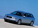 Photos of Audi A4 1.9 TDI Avant B6,8E (2001–2004)