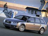 Photos of Audi A4 3.2 TDI quattro Avant B7,8E (2004–2008)