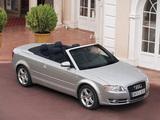 Photos of Audi A4 2.0T Cabrio B7,8H (2005)