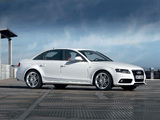 Photos of Audi A4 3.2 FSI quattro S-Line Sedan B8,8K (2007–2011)