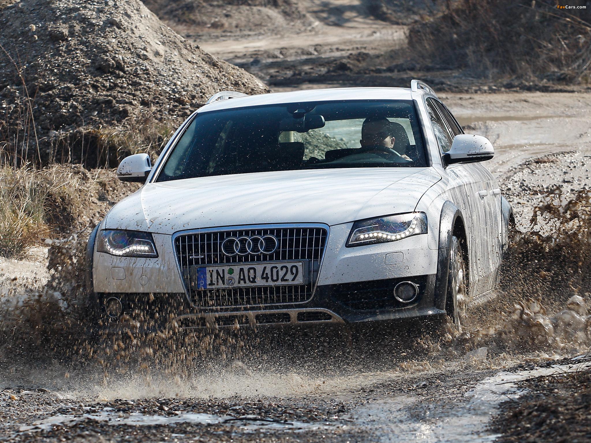 Photos Of Audi A4 Allroad 3 0 Tdi Quattro B8 8k 2009 2011 2048x1536