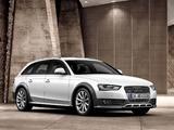 Photos of Audi A4 Allroad 3.0 TDI quattro (B8,8K) 2012