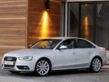 Photos of Audi A4 1.8T Sedan ZA-spec (B8,8K) 2012