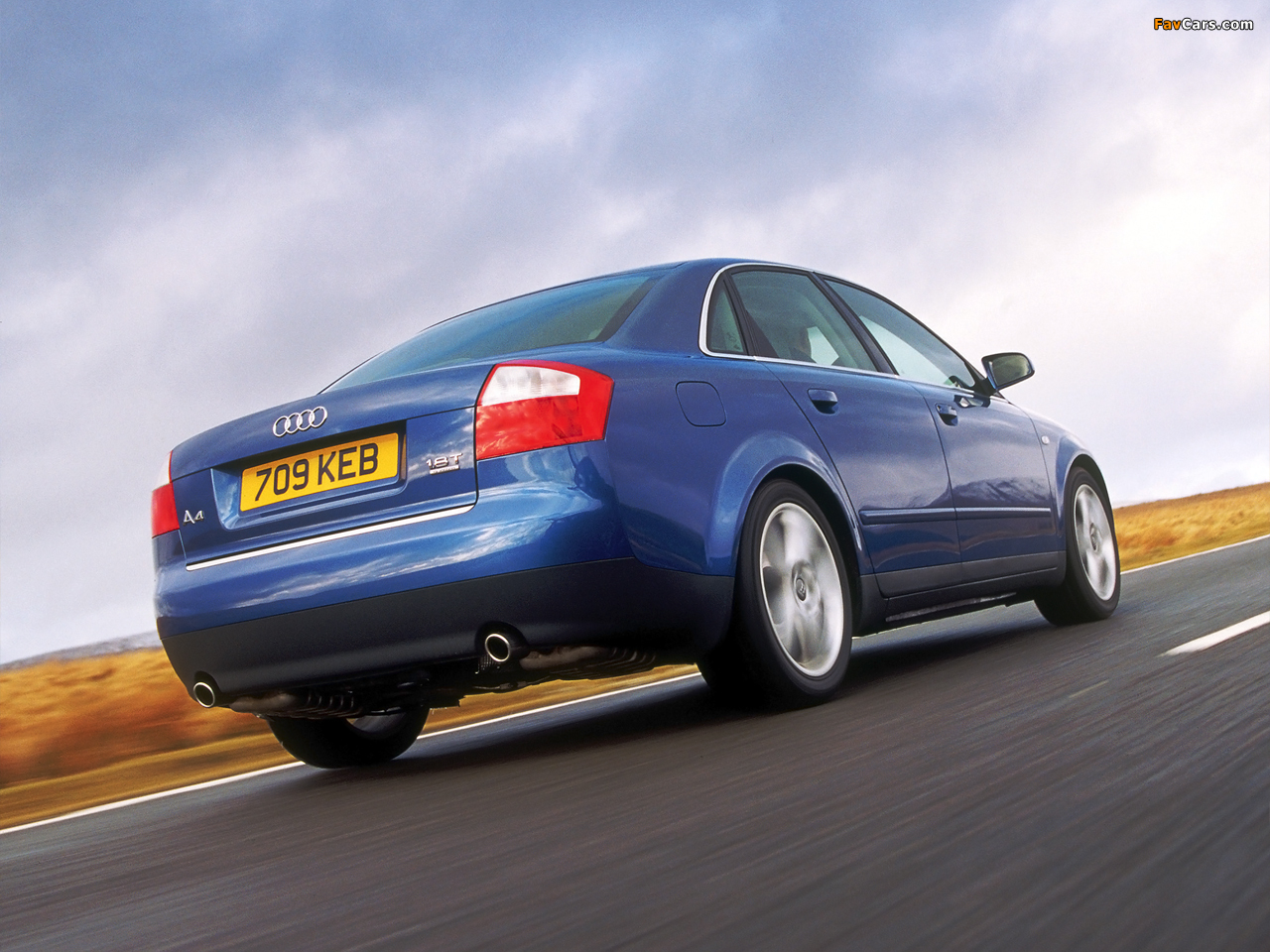 Pictures Of Audi A4 1 8t Quattro Sedan Uk Spec B6 8e 2000