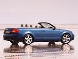 Pictures of Audi A4 2.4 Cabrio UK-spec B6,8H (2001–2005)