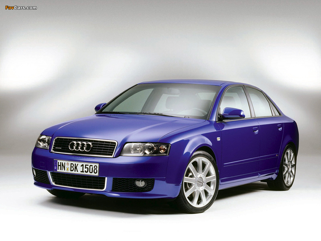pictures of audi a4 1 8t s line sedan b6 8e 2001 2004. Black Bedroom Furniture Sets. Home Design Ideas