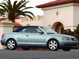 Pictures of Audi A4 Cabrio US-spec B6,8H (2001–2005)