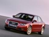Pictures of Audi A4 3.0 TDI quattro Sedan B7,8E (2004–2007)