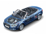 Pictures of Audi A4 2.0T Cabrio B7,8H (2005)