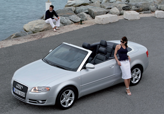 pictures of audi a4 2 0t cabrio b7 8h 2005. Black Bedroom Furniture Sets. Home Design Ideas
