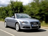 Pictures of Audi A4 2.0T S-Line Cabrio UK-spec B7,8H (2005)