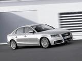 Pictures of Audi A4 2.0 TDI Sedan B8,8K (2007–2011)