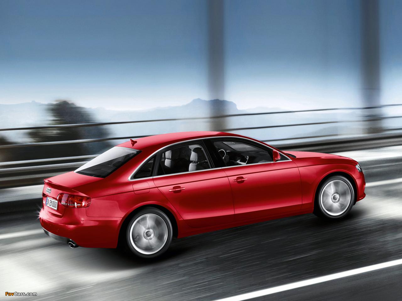Pictures Of Audi A4 2 0 Tdie Sedan B8 8k 2009 2011