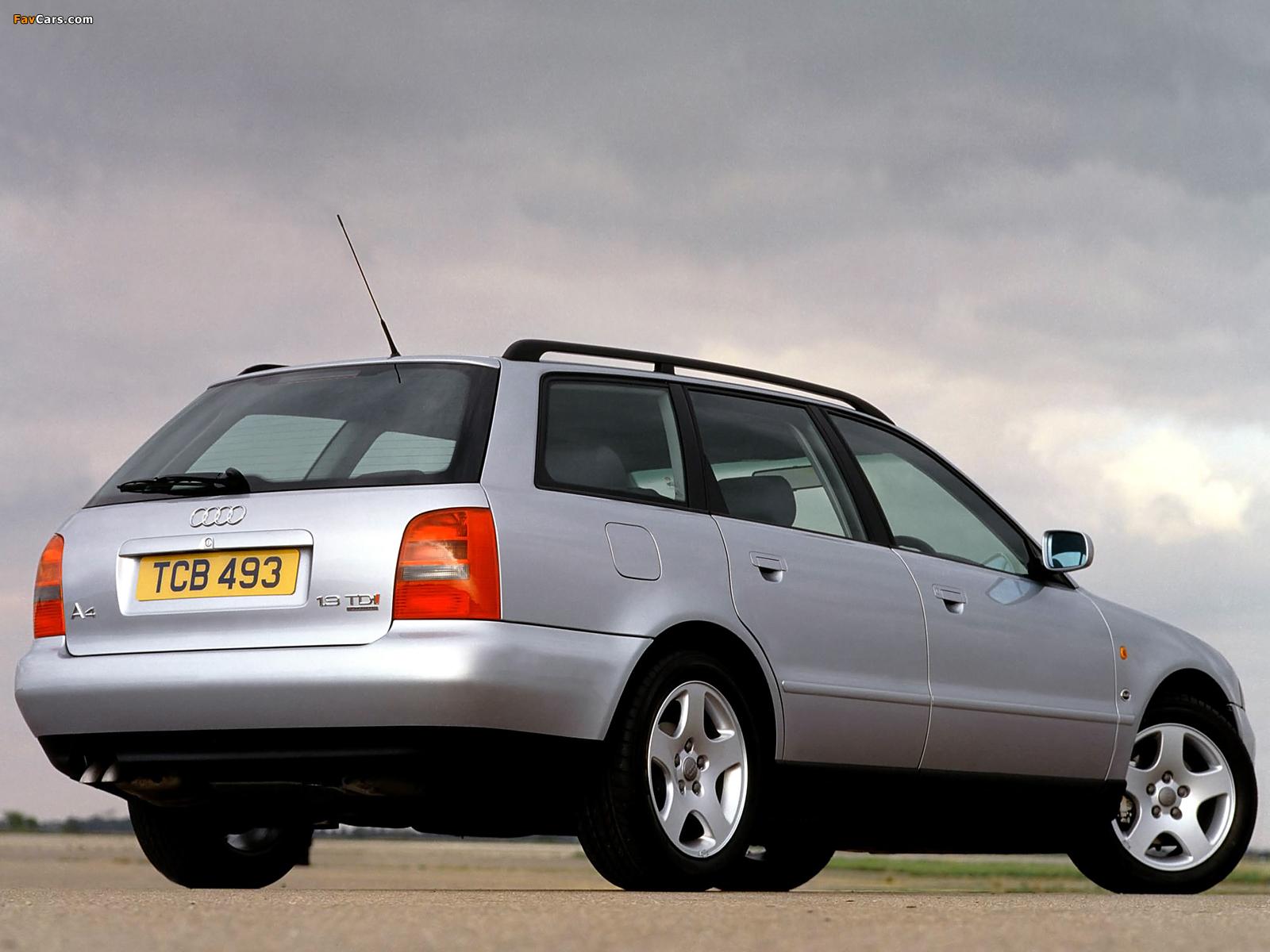 Audi A4 Avant UK-spec B5,8D (1995–2001) wallpapers (1600x1200)