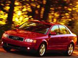 Audi A4 Sedan US-spec B6,8E (2000–2004) wallpapers