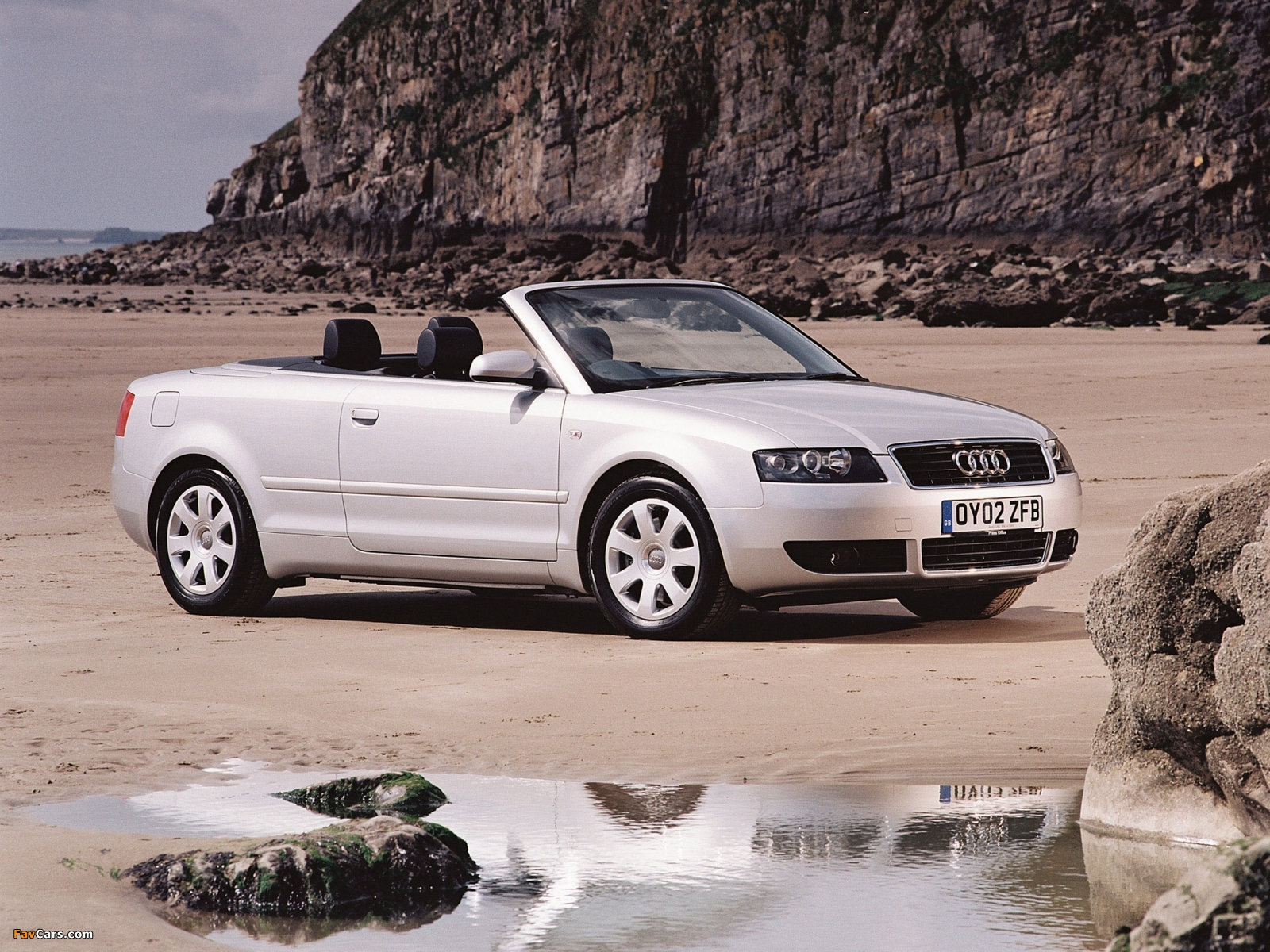 Audi A4 2 4 Cabrio Uk Spec B6 8h 2001 2005 Wallpapers