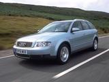 Audi A4 2.0 FSI Avant UK-spec B6,8E (2001–2004) wallpapers