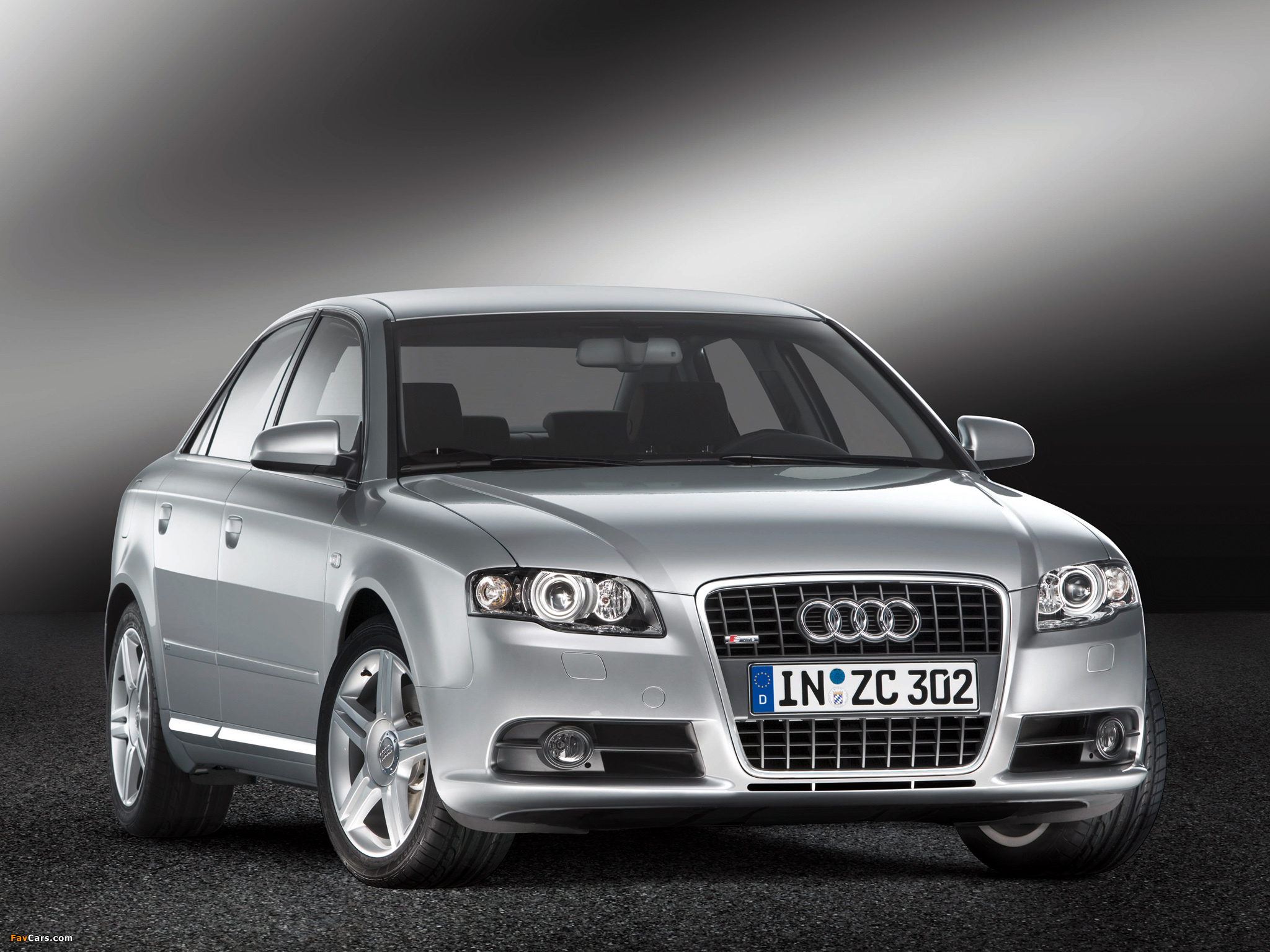 Audi A4 2 0t S Line Sedan B7 8e 2004 2007 Wallpapers 2048x1536