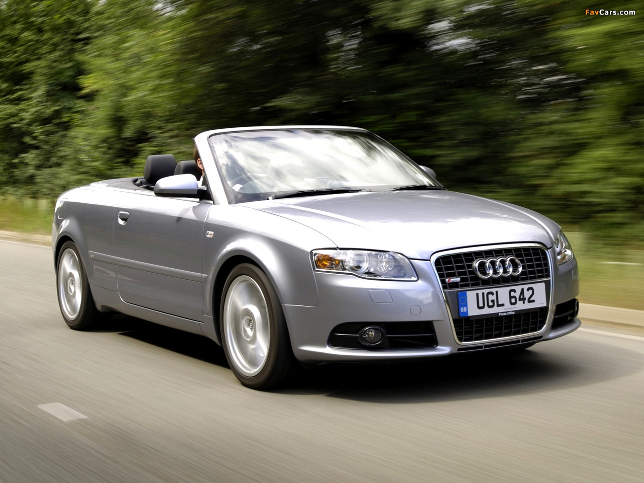 Audi A4 2 0t S Line Cabrio Uk Spec B7 8h 2005 Wallpapers