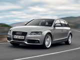 Audi A4 2.0 TDI Avant B8,8K (2008–2011) wallpapers