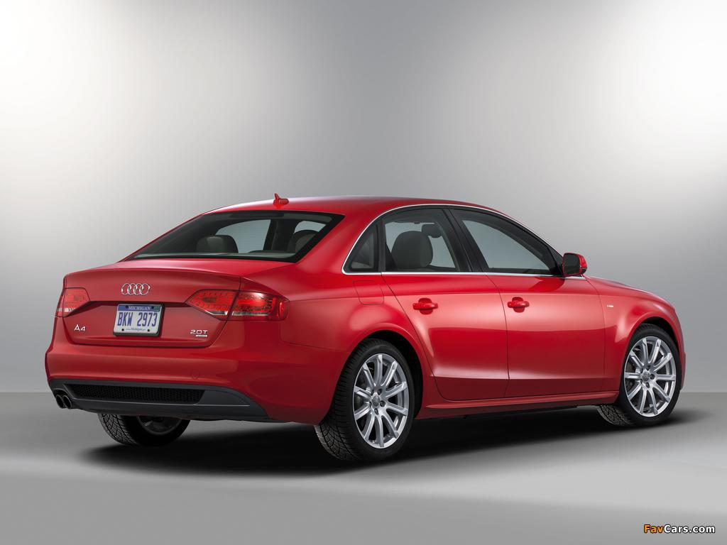 Audi A4 2 0t Quattro S Line Sedan Us Spec B8 8k 2009 2011