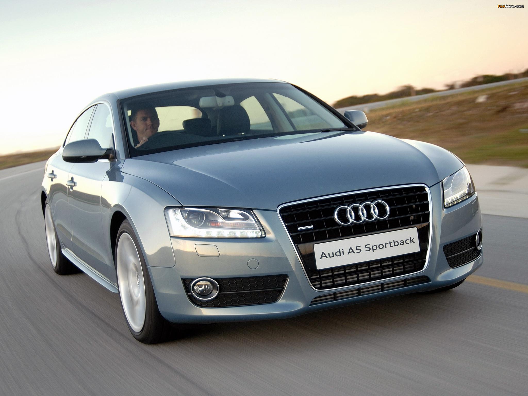 Audi A5 Sportback 3 0 Tdi Quattro Za Spec 2009 11 Images