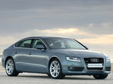 Audi A5 Sportback 3.0 TDI quattro ZA-spec 2009–11 wallpapers