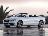 Audi A5 3.0 TDI Cabriolet 2009–11 wallpapers