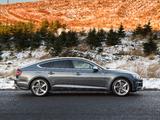 Audi S5 Sportback UK-spec 2017 images