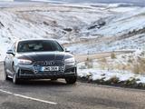 Audi S5 Sportback UK-spec 2017 photos