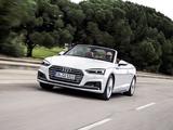 Audi A5 Cabriolet 2.0 TDI quattro S Line 2017 pictures