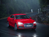 Audi A5 Coupé 2.0 TFSI quattro S Line AU-spec 2017 pictures