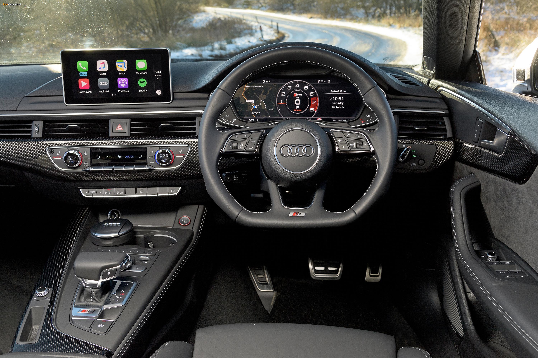 Images of Audi S5 Sportback UK-spec 2017 (3000 x 2000)