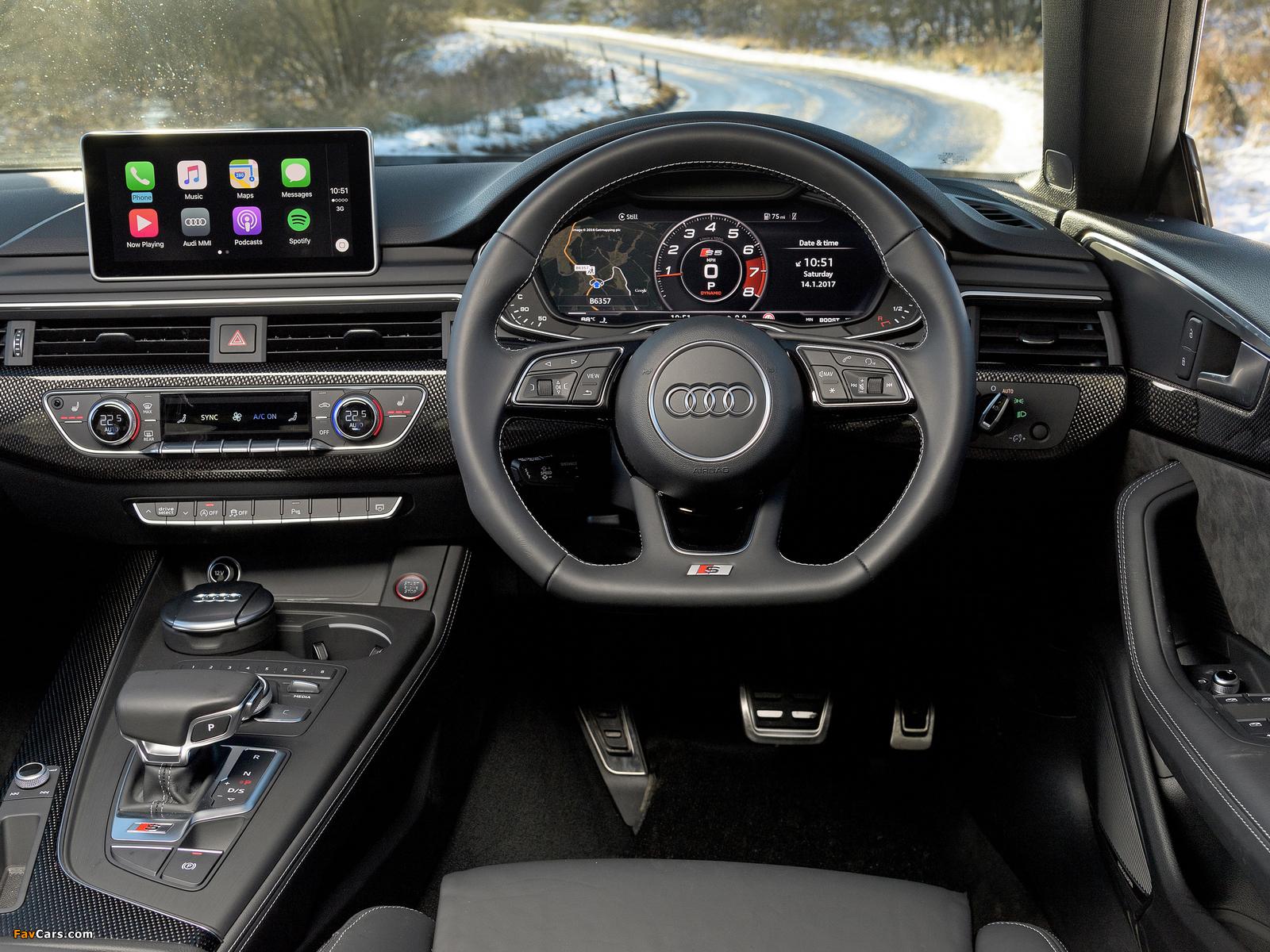 Images of Audi S5 Sportback UK-spec 2017 (1600 x 1200)