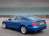 Photos of Audi A5 Sportback 3.0 TDI quattro UK-spec 2009–11