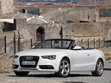Photos of Audi A5 3.0 TDI quattro Cabriolet 2011