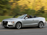 Pictures of Audi A5 2.0T Cabriolet US-spec 2012
