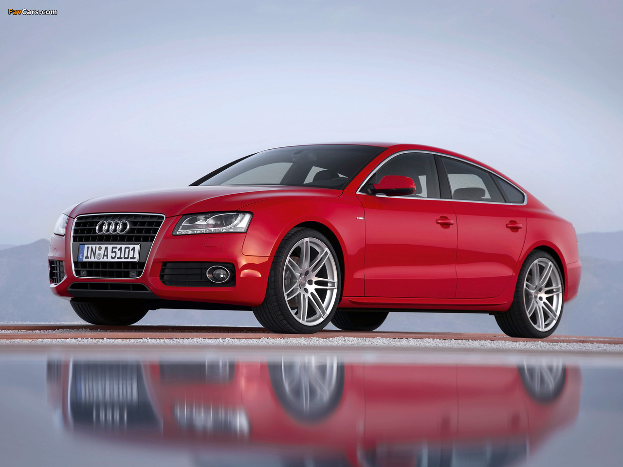 Audi A5 Sportback 2 0t S Line 2009 11 Wallpapers 1280x960