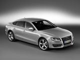 Audi A5 Sportback 3.0 TDI quattro 2009–11 wallpapers
