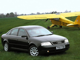 Audi A6 Sedan UK-spec (4B,C5) 1997–2001 photos