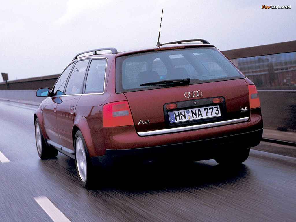 Audi A6 4.2 quattro Avant (4B,C5) 1999–2001 images (1024x768)