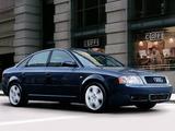 Audi A6 Sedan US-spec (4B,C5) 2001–04 images