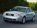 Audi A6 Sedan US-spec (4B,C5) 2001–04 photos