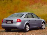 Audi A6 Sedan US-spec (4B,C5) 2001–04 pictures