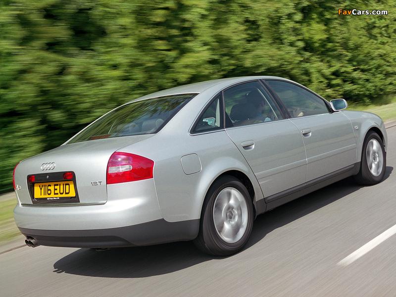 Audi A6 1 8t Sedan Uk Spec 4b C5 2001 04 Pictures 800x600