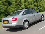 Audi A6 1.8T Sedan UK-spec (4B,C5) 2001–04 pictures