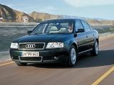 Audi A6 1.9 TDI Sedan (4B,C5) 2001–04 pictures