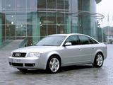 Audi A6 3.0 quattro Sedan (4B,C5) 2001–04 pictures