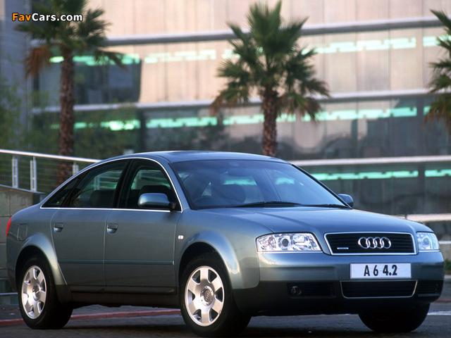 Audi A6 4.2 quattro Sedan ZA-spec (4B,C5) 2001–04 pictures (640 x 480)